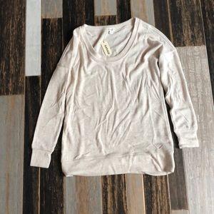 beige sleep shirt